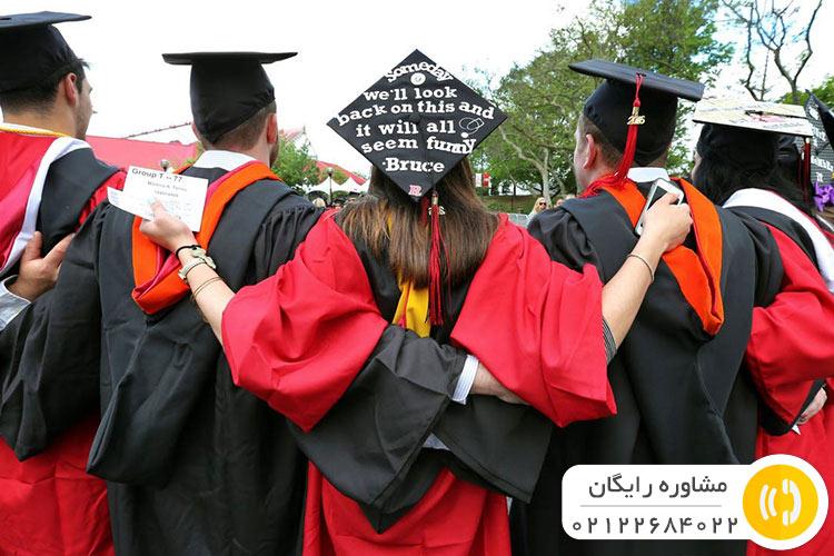 فارغالتحصیلی از دانشگاههای کانادا